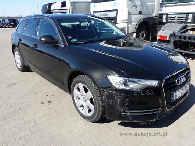 Audi A6 20 Tdi Kombi Automat 2014r Pojazdy Osobowe Aukcje Efl