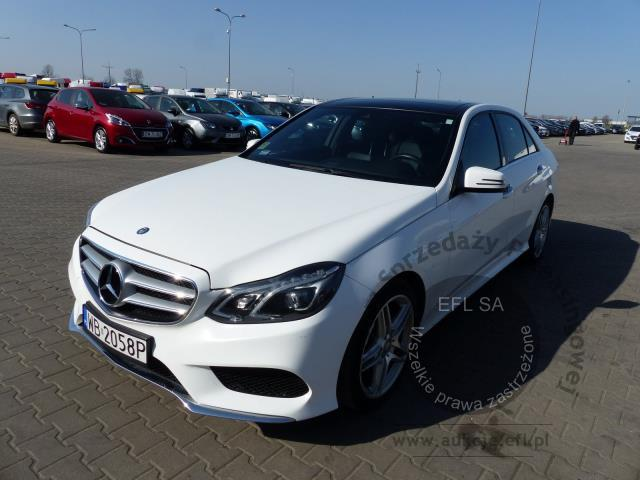0 - MERCEDES - BENZ E350 4-MATIC SEDAN AUTOMAT 2014r.