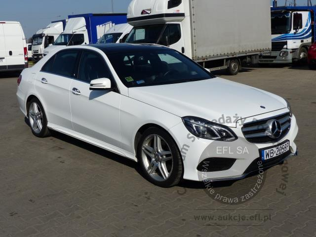 1 - MERCEDES - BENZ E350 4-MATIC SEDAN AUTOMAT 2014r.