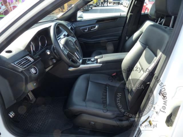 6 - MERCEDES - BENZ E350 4-MATIC SEDAN AUTOMAT 2014r.