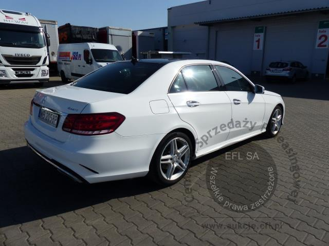 7 - MERCEDES - BENZ E350 4-MATIC SEDAN AUTOMAT 2014r.