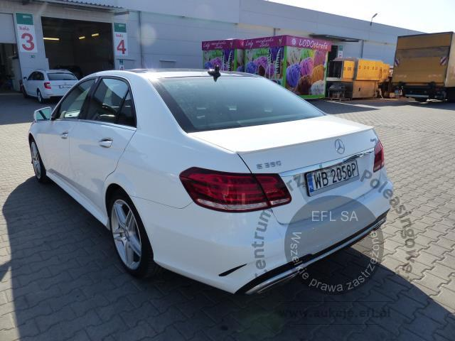 8 - MERCEDES - BENZ E350 4-MATIC SEDAN AUTOMAT 2014r.